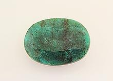 Emerald 160.08ctw Loose Gemstone 44x32x16mm Oval Cut - L20506