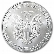 2005 1 oz Silver American Eagle (Brilliant Uncirculated) - L22857