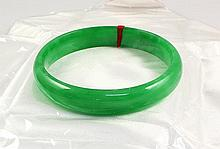 Chinese Antique Jade Bangle - L24075