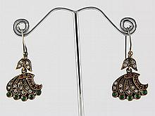 Natural Stone Antique Design Dangle Earring - L23059
