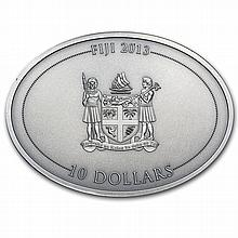 Fiji 2013 1 oz Silver $10 Fascinating Wildlife - Koala - L28668