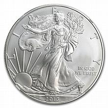 2013 (S) Silver American Eagle - MS-70 NGC - ALS Label/FR - L29298