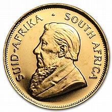 1/10 oz Gold South African Krugerrand - Random Year - L29851
