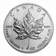 1996 1 oz Silver Canadian Maple Leaf MS-68 NGC - L29116