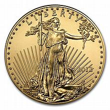 2012 1 oz Gold American Eagle - Brilliant Uncirculated - L22435