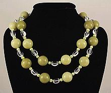 1442.00 CTW 18  GRAPE LIKE BEADS NECKLACE - L21696