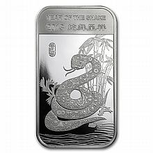 1 oz Year of the Snake Silver Bar .999 Fine - L24908