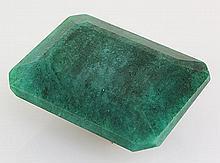 Emerald 118.35ctw Loose Gemstone 35x28x15mm EmeraldCut - L20522