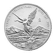 Mexican Silver Libertad 1 Ounce 2002 - L21580