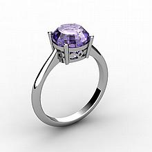 Tanzanite 2.50 ctw Ring 14kt White Gold - L15207