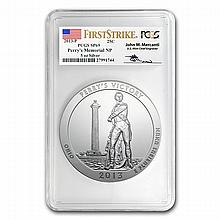 2013-P 5 oz Silver ATB - Perry's Victory SP-69 (FS) PCGS-Mercanti - L24883