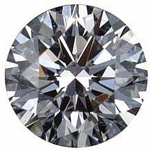 Round 0.70 Carat Brilliant Diamond H IF - L24157