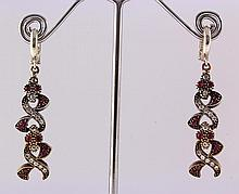Natural Stone Antique Design Dangle Earring - L23061