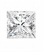 0.75 ctw Princess cut Diamond Stud Earrings G-H, SI2 - L11492