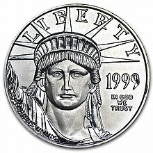 1999 1/2 oz Platinum American Eagle - Brilliant Uncirculated - L27628