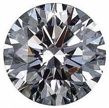 Round 0.96 Carat Brilliant Diamond K VS2 - L24189