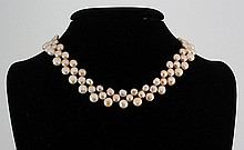 227.57CTW 12 PEACH SIOPAO NECKLACE METAL LOCK PHILIPPINES - L18358