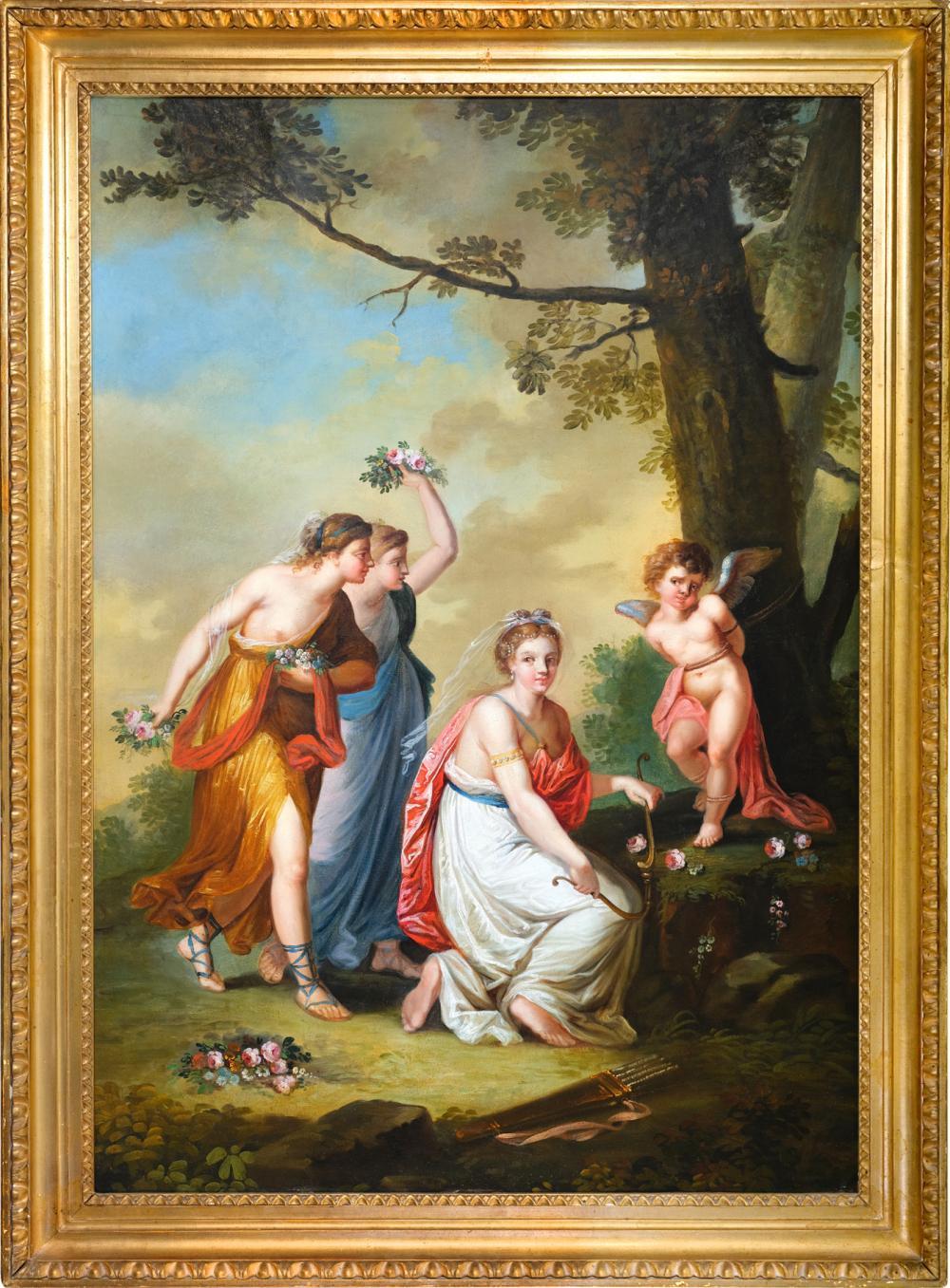 The naughty cupid, Empire, Around 1790/1810