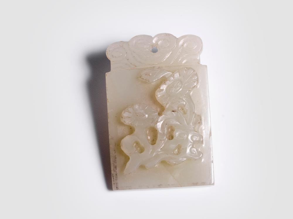 Jade pendant, China, Quing dynasty