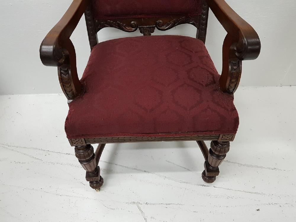 Stupendous Great Set Of 10 Rj Horner Tiger Oak Dining Chairs Short Links Chair Design For Home Short Linksinfo