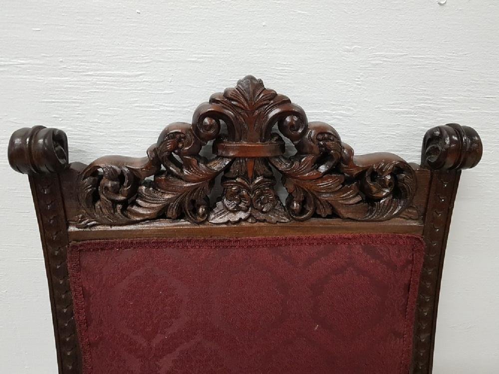 Peachy Great Set Of 10 Rj Horner Tiger Oak Dining Chairs Short Links Chair Design For Home Short Linksinfo