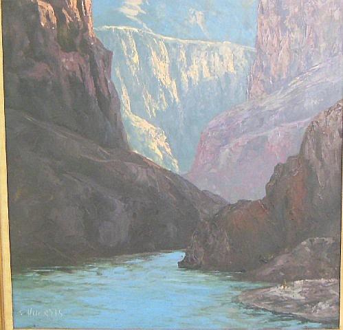 Segundo Huertas oil painting