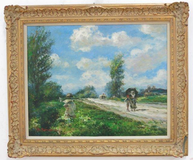 Jacques Deveau, French Landscape
