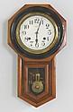 Seiko 8 day Victorian walnut wall clock
