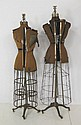 2 vintage mannequins