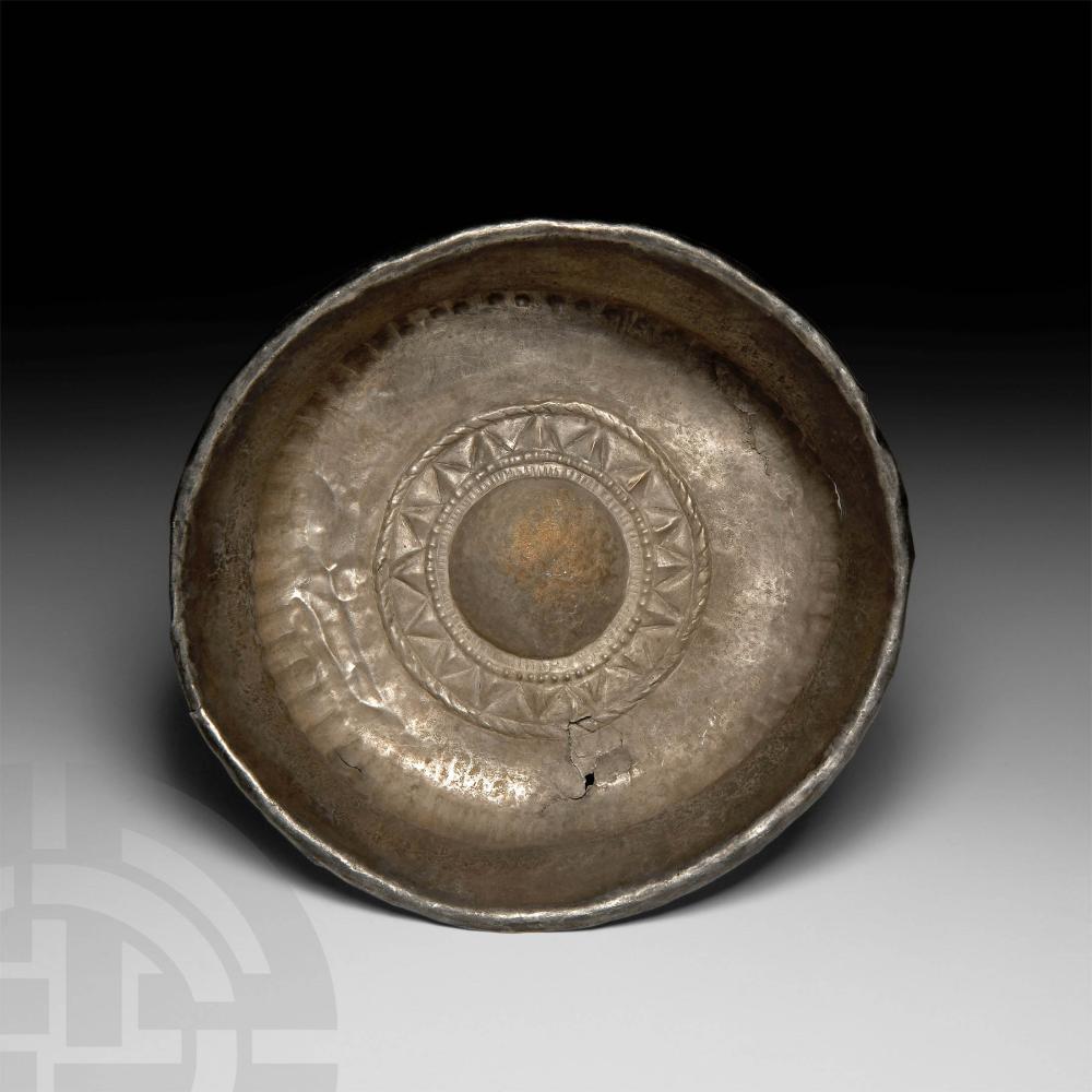 Thracian Silver 'Lotus' Bowl
