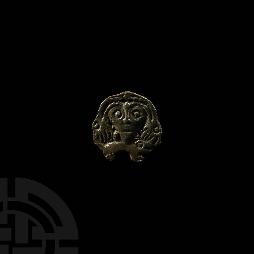 Viking Age Finno-Ugric Odin Mount with Beasts