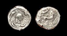 Ancient Greek Coins - Syracuse - Plated Arethusa Tetradrachm