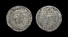 Irish Tudor Hammered Coins - Elizabeth I - First Coinage Groat