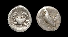 Ancient Greek Coins - Himera - Crab Drachm