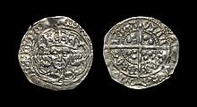 Irish Medieval Hammered Coins - Edward IV - Drogheda - Long Cross Groat