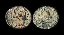 Ancient Greek Coins - Apameia, Seleukis and Pieria - Syria - Dionysos Bronze