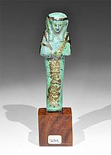 Egyptian Glazed Composition Shabti