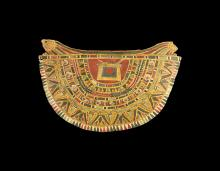 Cartonnage Collar with Heads of Horus