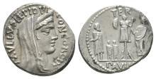 Republican - L Aemilius Lepidus Paullus - Denarius