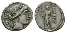 Republican - Mn Acilius Glabrio - Salus Denarius