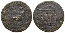 Imperial Coins - Caligula - Temple Sestertius