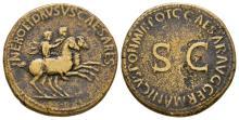 Imperial - Nero and Drusus - Caesars Dupondius