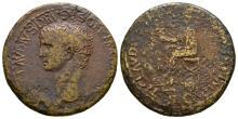 Imperial Coins - Nero Cl. Drusus - Emperor Sestertius