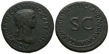 Imperial Coins - Agrippina Senior - SC Sestertius