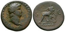 Imperial Coins - Nero - Roma Sestertius