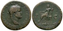 Imperial Coins - Galba - Livia Seated Sestertius