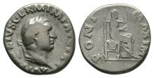 Imperial Coins - Vitellius - Vesta Denarius
