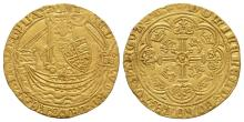 Medieval-Edward III-London-Treaty Gold Half Noble