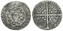 Medieval Coins - Henry V - Frowning Bust Groat