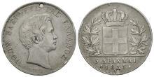 World Coins - Greece - 1833A - 5 Drachma